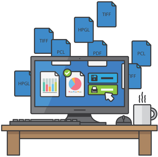 SwiftView - View, convert, print and manage your documents
